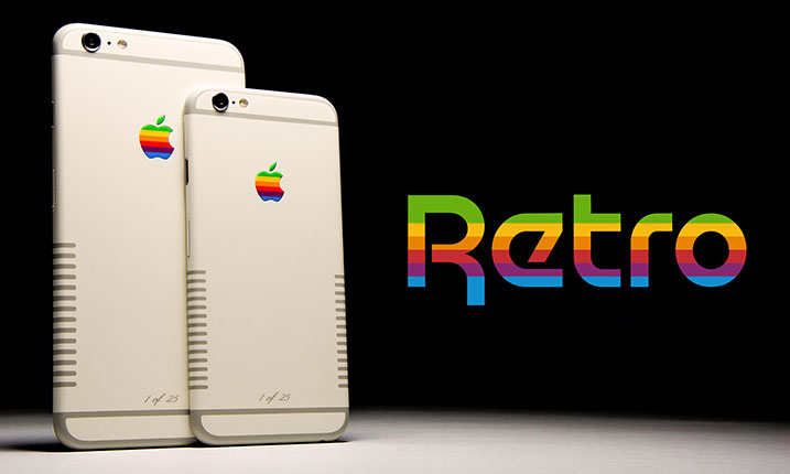 Retro iPhone 6S a 6S Plus