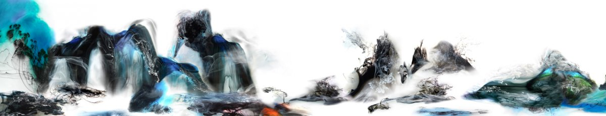 Painting fluid landscapes