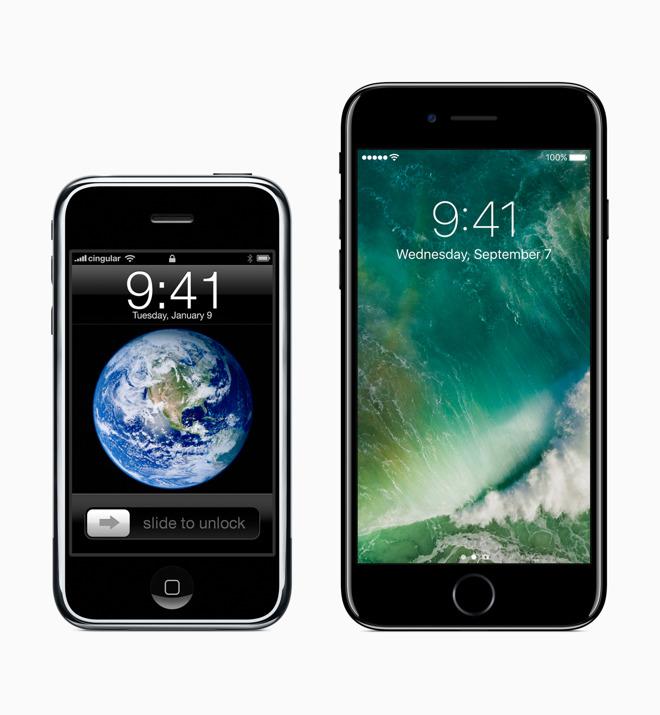 porovnanie najstaršieho a najnovšieho iPhonu 0231be1cc3f